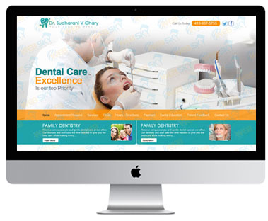 Wordpress Dental Care Website.