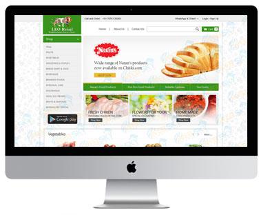 Leo Retail Website Ecommerce Development.